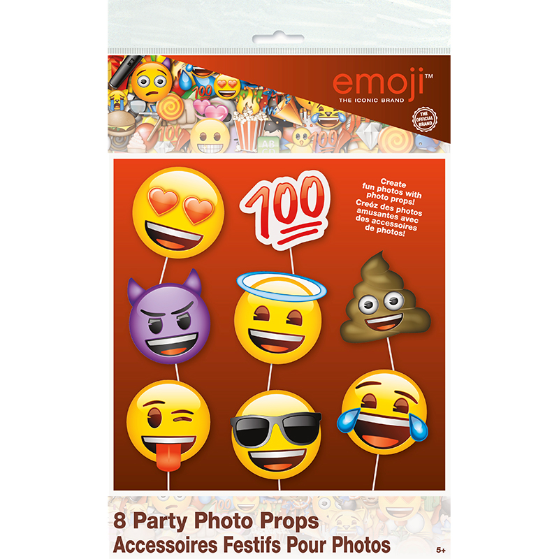EMOJI PARTY PROPS DEVIL ANGEL TURD PARTY SUPPLIES