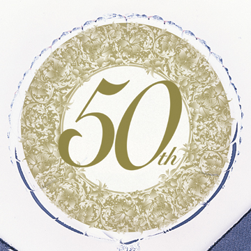 DISCONTINUED 50TH ANNIVERSARY BALLOON PARTY SUPPLIES
