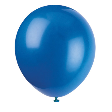 Click for larger picture of 5'' ROYAL BLUE BALLOONS (72/PKG) PARTY SUPPLIES