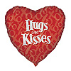 DISCONTINUED HEART HUGS KISS MYL BALLOON PARTY SUPPLIES