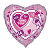 DISCONTINUED HEART I LOVE YOU MYLR BLN PARTY SUPPLIES
