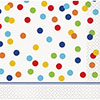 RAINBOW POLKA DOT BEVERAGE NAPKIN PARTY SUPPLIES