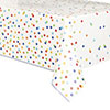 RAINBOW POLKA DOT TABLECOVER PARTY SUPPLIES