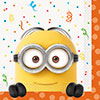 DESPICABLE ME LUNCH NAPKIN (192/CS) PARTY SUPPLIES