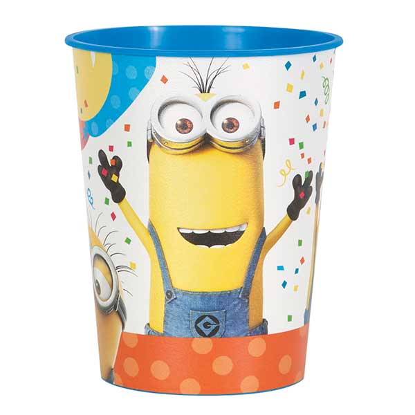 Click for larger picture of DESPICABLE ME SOUVENIR CUP (6/CS) PARTY SUPPLIES