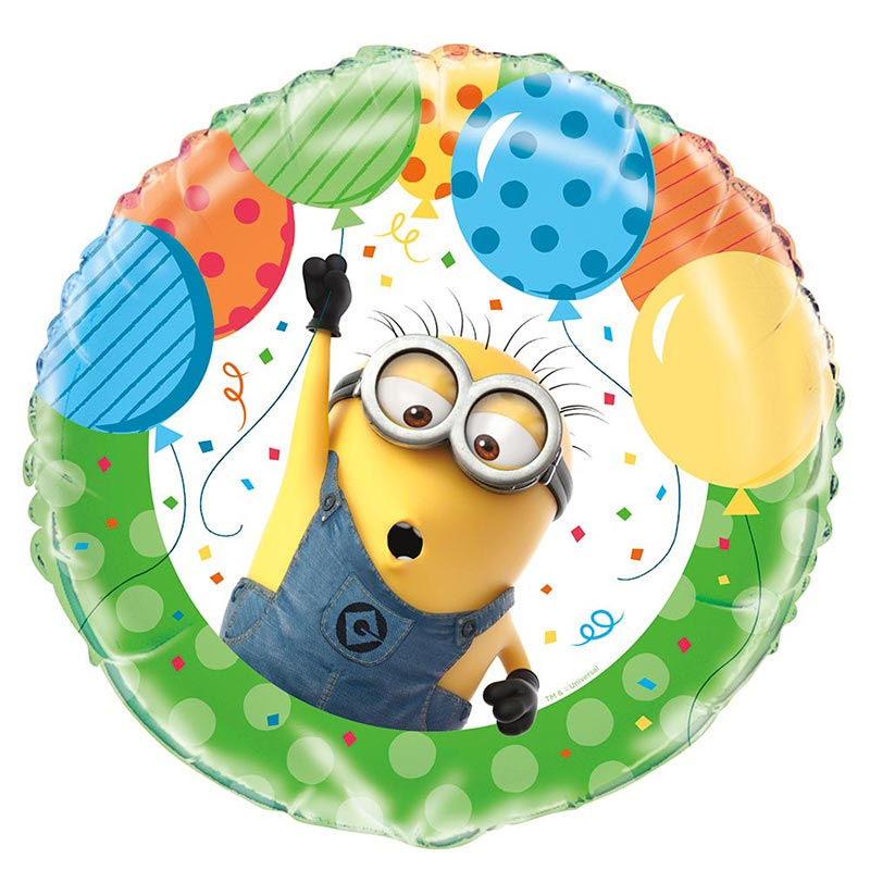 Click for larger picture of DESPICABLE ME FOIL BALLOON 18