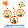 DESPICABLE ME SWIRL 26 INCH (36/CS) PARTY SUPPLIES