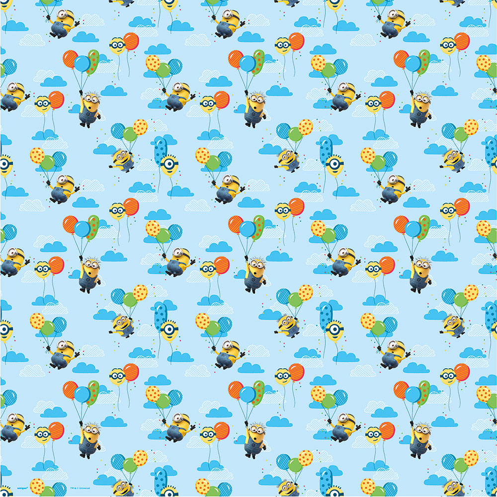 Click for larger picture of DESPICABLE ME GIFT WRAP (12/CS) PARTY SUPPLIES