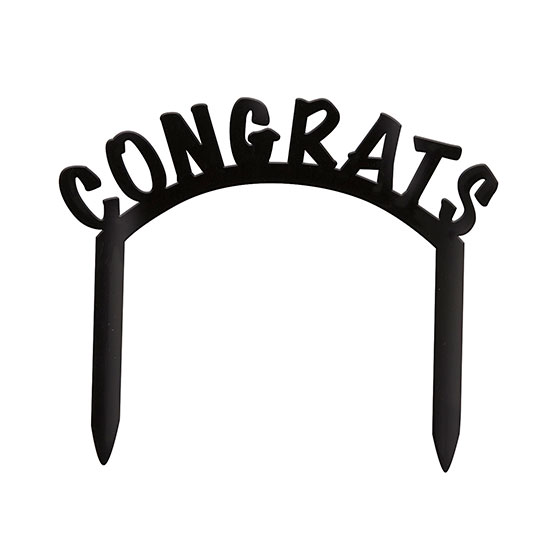 CONGRATS CAKE TOP PARTY SUPPLIES