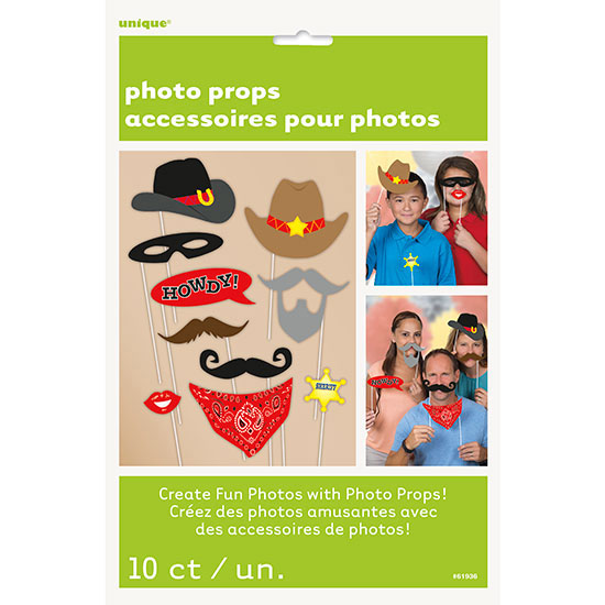 WESTERN PHOTO PROPS PARTY SUPPLIES