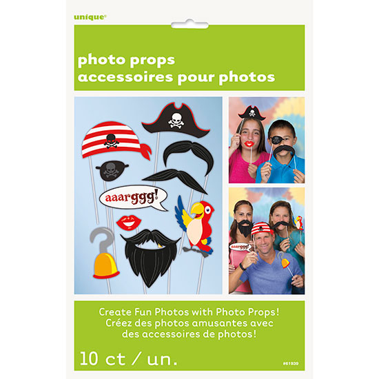 PIRATE PHOTO PROPS PARTY SUPPLIES