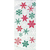 SNOWFLAKE CELLO BAG (240/CS) PARTY SUPPLIES