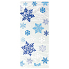 SNOWFLAKES CELLO BAG (240/CS) PARTY SUPPLIES