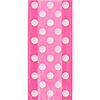 HOT PINK DOTS CELLO BAGS PARTY SUPPLIES