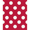 DISCONTINUED RUBY RED DOTS LOOTBAGS PARTY SUPPLIES