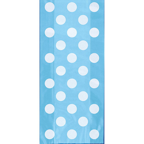 POWDER BLUE CELLO BAGS PARTY SUPPLIES