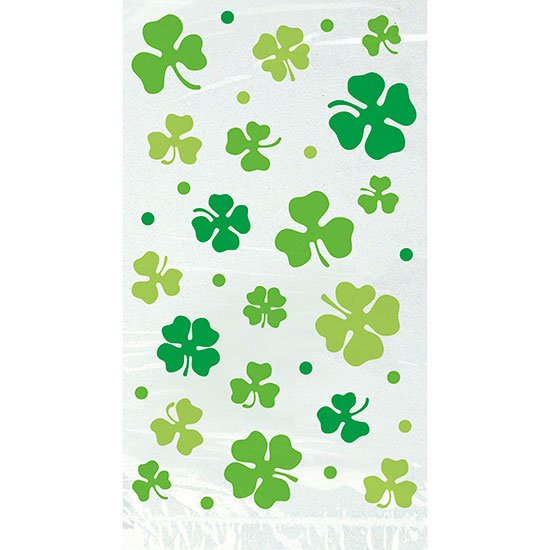 LUCKY SHAMROCK CELLO BAG (240/CS) PARTY SUPPLIES