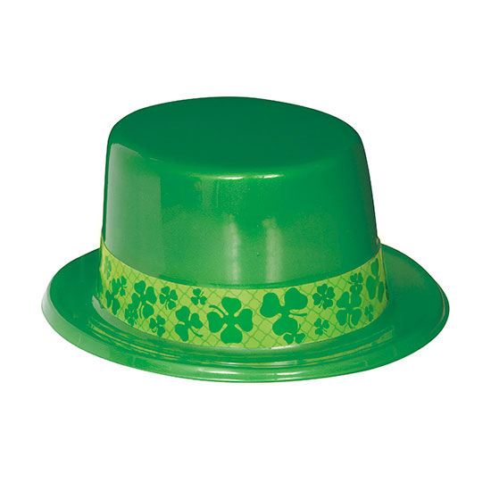 SHAMROCK TOP HATS (25/CS) PARTY SUPPLIES
