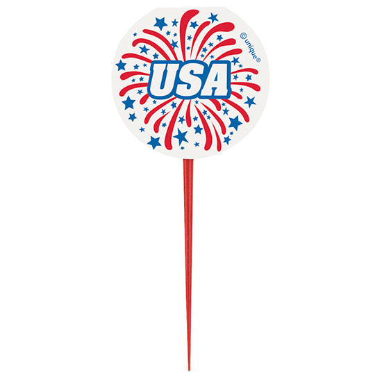 USA PICKS (96/CS) PARTY SUPPLIES