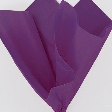 Click for larger picture of PURPLE TISSUE SHEETS (120/CS) PARTY SUPPLIES