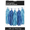 ROYAL LT BLUE TASSEL GARLAND(6/CS) PARTY SUPPLIES