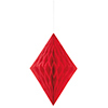 RED DIAMOND TISSUE DECORATION (12/CS) PARTY SUPPLIES