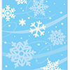 SNOWFLAKE TREAT BAG (96/CS) PARTY SUPPLIES