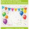 PHOTO BOOTH BACKDROP (12/CS) PARTY SUPPLIES