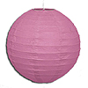 HOT PINK 10IN ROUND LANTERN (12/CS) PARTY SUPPLIES