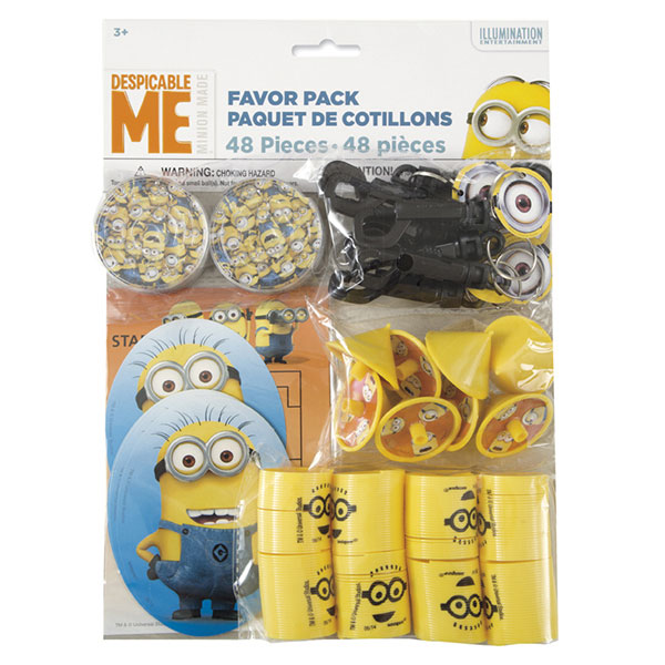 Click for larger picture of DESPICABLE ME FAVOR PACK (576/CS) PARTY SUPPLIES