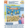 DESPICABLE ME WALL DECORATING KIT(60/CS) PARTY SUPPLIES