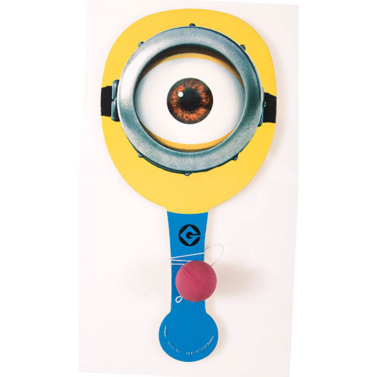 DESPICABLE ME 2 PADDLE BALL (12/CS) PARTY SUPPLIES