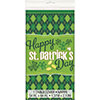 ARGYLE ST PATS TABLECOVER (12/CS) PARTY SUPPLIES