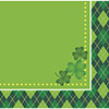 ARGYLE ST PATS BEVERAGE NAPKIN(192/CS) PARTY SUPPLIES