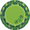 ARGYLE ST PATS DESSERT PLATE(96/CS) PARTY SUPPLIES