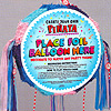 BLANK POPOUT PINATA PASTEL COLOR PARTY SUPPLIES
