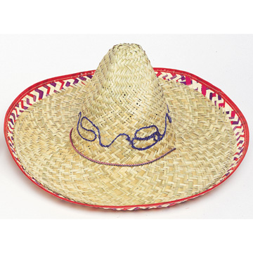 Click for larger picture of SOMBRERO W/CHINSTRAP (ADULT LRG) PARTY SUPPLIES