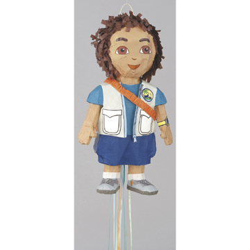 Click for larger picture of DISCONTINUED PINATA - DIEGO PULL PINATA PARTY SUPPLIES
