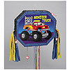 MONSTER TRUCK PULL PINATA PARTY SUPPLIES