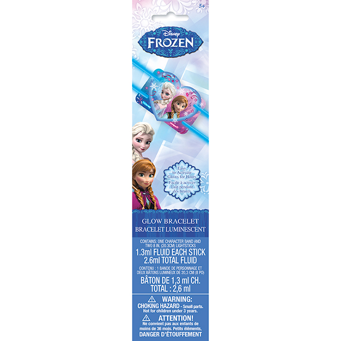 FROZEN GLOW BRACELET PARTY SUPPLIES