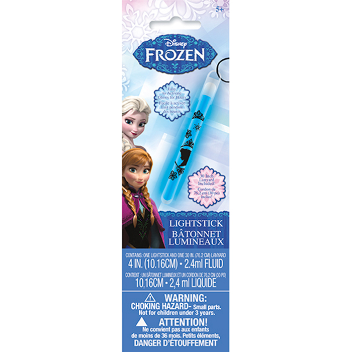DISCONTINUED FROZEN GLOW LIGHT STICK PARTY SUPPLIES