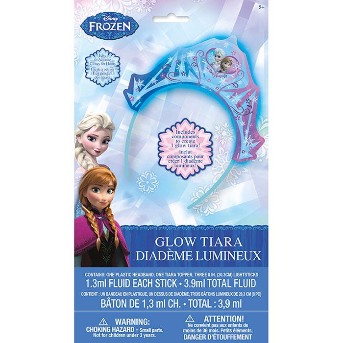 FROZEN GLOW TIARA PARTY SUPPLIES