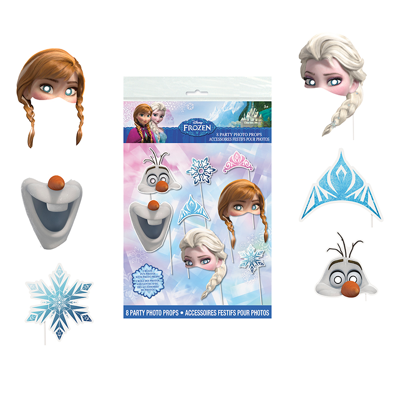FROZEN PHOTO BOOTH PROPS PARTY SUPPLIES