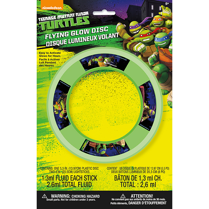 DISCONTINUED TMT GLOW FLYING DISK PARTY SUPPLIES