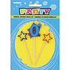 0 STAR CANDLE SET (12/CS) PARTY SUPPLIES