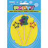 3 STAR CANDLE SET (12/CS) PARTY SUPPLIES
