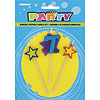 7 STAR CANDLE SET (12/CS) PARTY SUPPLIES