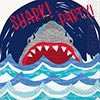SHARK PARTY BEVERAGE NAPKIN (192/CS) PARTY SUPPLIES