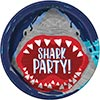 SHARK PARTY DINNER PLATE (96/CS) PARTY SUPPLIES