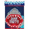 SHARK PARTY TREAT BAG (192/CS) PARTY SUPPLIES